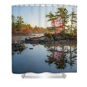Molega Lake, Nova Scotia Shower Curtain