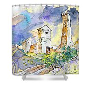 Molina De Aragon Spain 01 Shower Curtain