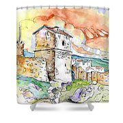 Molina De Aragon Spain 02 Shower Curtain