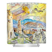 Molina De Aragon Spain 03 Shower Curtain