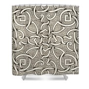 Mollet Design For A Parterre Shower Curtain