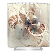 Mollusca Shower Curtain
