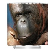 Mom Protection Shower Curtain
