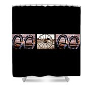 Mom Word Photography Shower Curtain