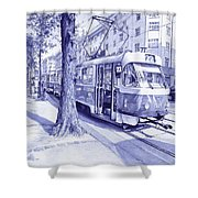 Moment In Prague - Ballpoint Pen Art Shower Curtain