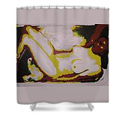 Moment Of Bliss Shower Curtain