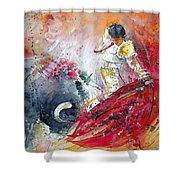 Moment Of Truth 2010 Shower Curtain by Miki De Goodaboom