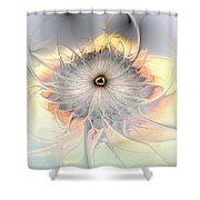 Momentary Intimacy Shower Curtain