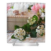 Moments To Treasure Shower Curtain