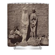 Momies Egyptiennes (egyptian Mummies) Shower Curtain