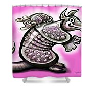 Momma Dillo Shower Curtain