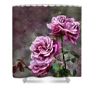 Moms Roses Shower Curtain