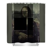 Mona Lisa #3dk Shower Curtain