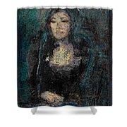 Mona Lisa N.5 Shower Curtain
