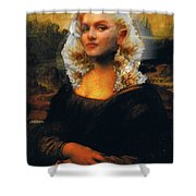 Mona Marilyn Shower Curtain