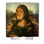 Mona Rilla Shower Curtain