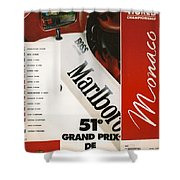 Monaco F1 1993 Shower Curtain
