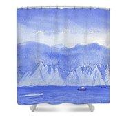 Monarch Flatirons II Shower Curtain