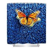 Monarchs Mating Shower Curtain