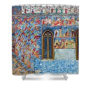 Monastery Angels Shower Curtain