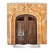 Monastery Of Jeronimos Door Shower Curtain