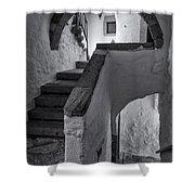 Monastery Of Saint John The Theologian Shower Curtain