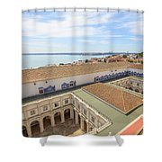 Monastery Of Sao Vicente Of Fora Shower Curtain