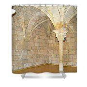 Monastery Of St. Bernard De Clairvaux 3 Shower Curtain