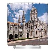 Monastery Of The Hieronymites Lisbon 5 Shower Curtain
