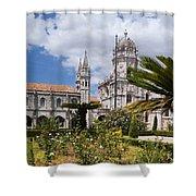 Monastery Of The Hieronymites Lisbon 6 Shower Curtain