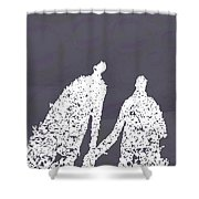Monday In The Park With Vivian Shower Curtain