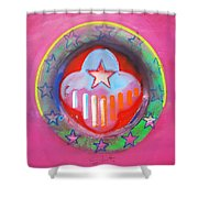 Monetary Union Shower Curtain