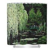 Monet's Garden Shower Curtain