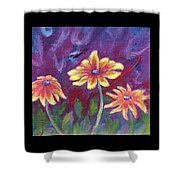 Monet's Small Composition Shower Curtain