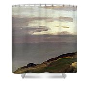 Monhegan Island Maine 1911 Shower Curtain