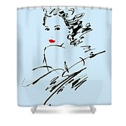 Monique Variant 2 Shower Curtain
