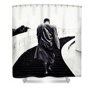 Monk Shower Curtain