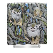 Monkeys Shower Curtain