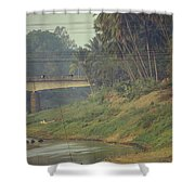 Monks - Battambang Shower Curtain