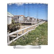 Monmouth Beach - Impressions Shower Curtain