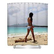 Monnn Shower Curtain