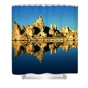 Mono Lake California Sunset - Landscape Shower Curtain