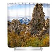 Mono Lake California Shower Curtain