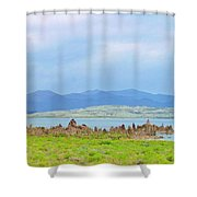 Mono Lake Image Shower Curtain