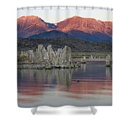Mono Lake Sunrise 1 Shower Curtain