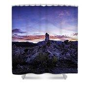 Mono Lake Sunset 4 Shower Curtain