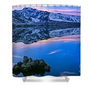 Mono Lake Twilight Shower Curtain