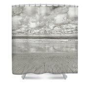 On The Beach 4 Shower Curtain