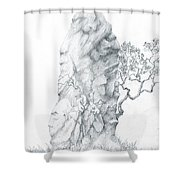 Monolith 2 Shower Curtain
