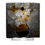 Monolith And Friends Shower Curtain
